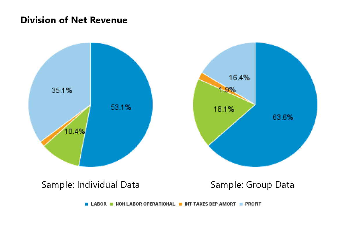 Division of Net Revenue